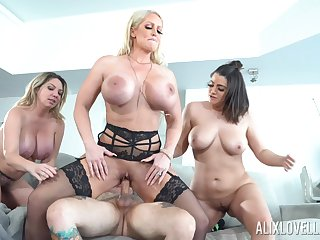Throated MILFs are available to the ultimate anal horseshit parceling out