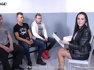 Hardcore shacking up between a lucky amateur and Czech star Mea Melone