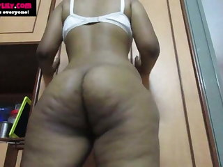 Big Ass Desi Indian Tamil Girl Horny Lily Does Naked Dance