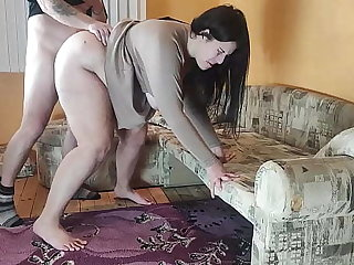 Cuckold Husband Log Cheating Wife Fucking his Friend before Fuck her and Cum on her Feature
