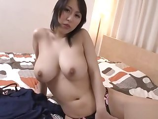Cyclopean tits Asian stimulates their way cunt with lusty insertions
