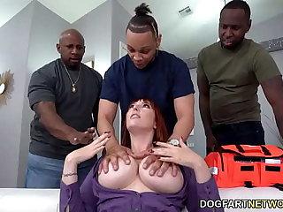 First Aid Class Gangbang BBC Slut Lauren Phillips