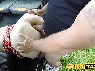 Fake Obsolete horse-drawn hackney Ginger cock monster deepthroats and anal
