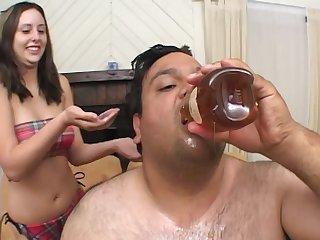 Dirty man take a aphoristic dick fucks horny brunette Ashley Jordan