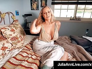 Bonny World Famous Milf Julia Ann Gets Mega Dick Drilled