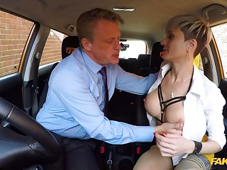 Scalding mature with big tits, nasty fuck with the propulsive instructor